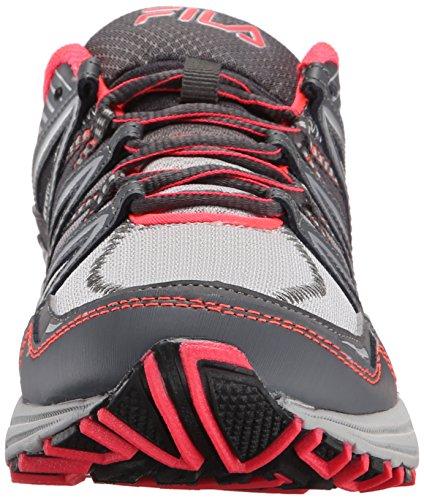 Fila Womens Headway 6 Running Shoe Grey/Coral b8DRYPLp3