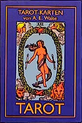 TAROT von A. E. Waite (Pocket, 52 x 89 mm Karten) Spielzeug – 1. Januar 1997 Arthur E. Waite Königsfurt-Urania Verlag 3927808156 Lebensdeutung