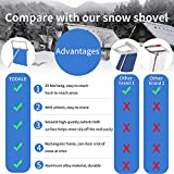 BOOWAY Roof Snow Rake Removal Tool 20ft with
