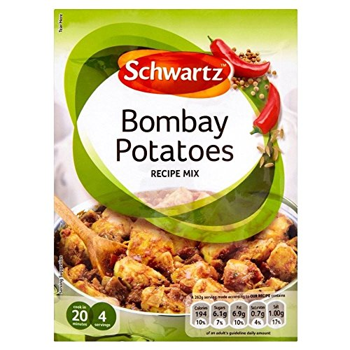 Schwartz Bombay Potatoes Recipe Mix (33g) - Pack of 2