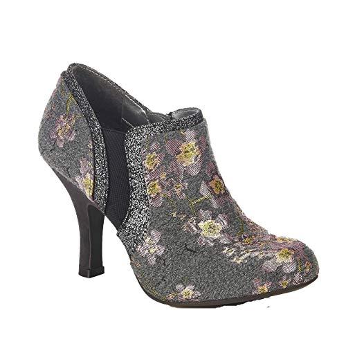 Floral Sandali Donna Grey Ruby Con Shoo Zeppa qHWWYZ5