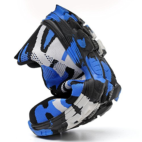 Camo LAN Safety Construction Toe Protective Blue Men's Work Steel Shoes and YING Industrial Sport qEvadE
