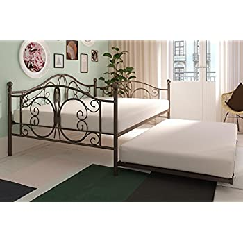 Amazon Com Modern Bombay Bed Daybed Full Size W Roll Out