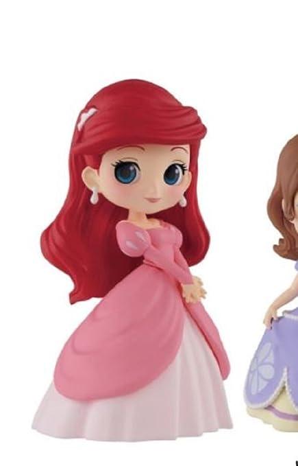"Disney Characters Q posket petit Ariel Sofia Aurora""The Little Mermaid  Ariel"""