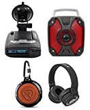 ESCORT MAX 360 Radar Laser Police Camera Detector w/GPS/USB+Speakers+Headphones