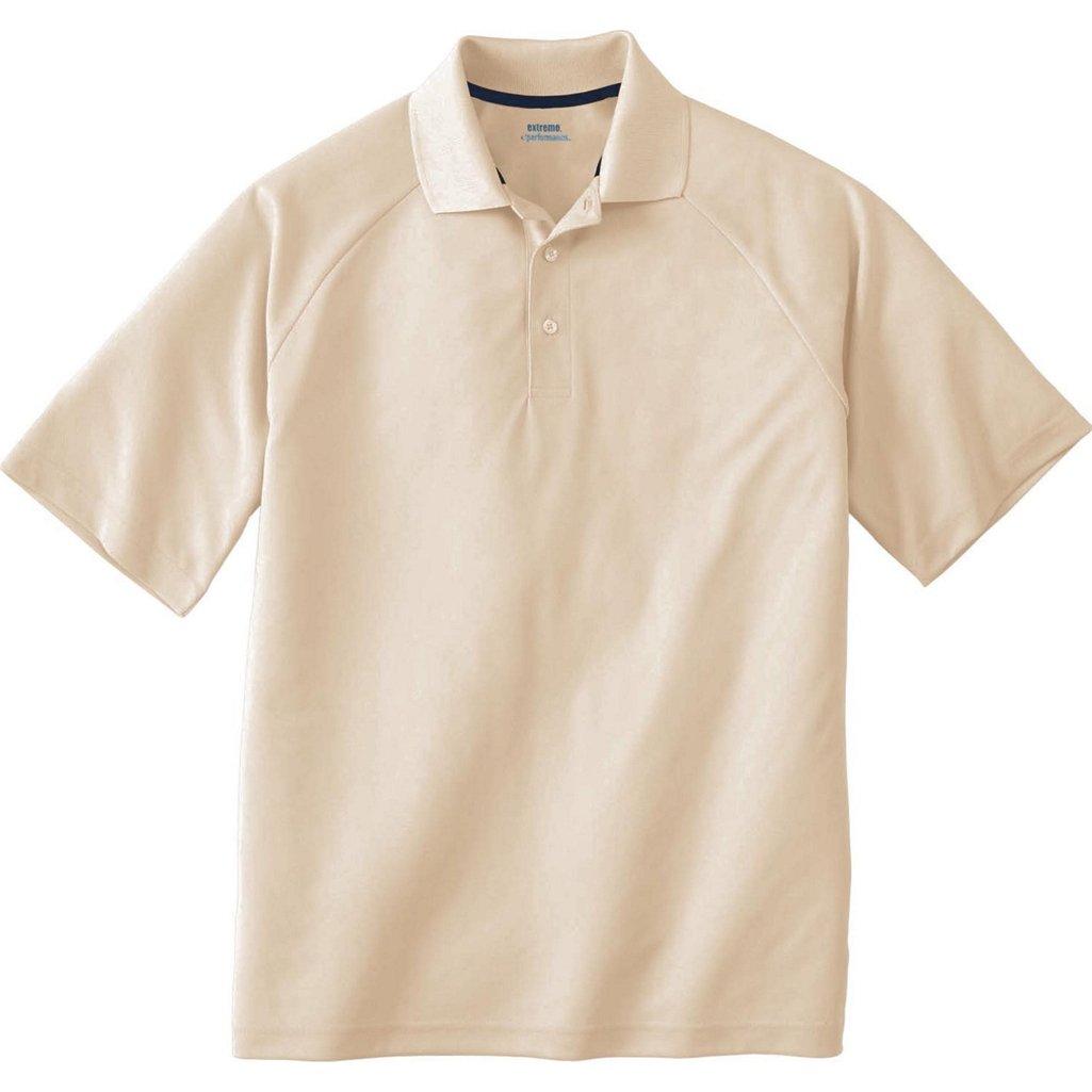Ash City Mens E Performance Pique Polo Shirt