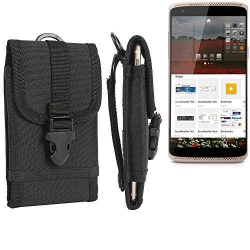 bolsa del cinturón / funda para ZTE Axon mini Premium Edition, negro | caja del teléfono cubierta protectora bolso - K-S-Trade (TM)