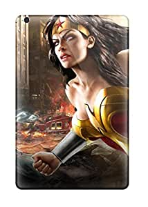 Durable Case For The Ipad Mini 2- Eco-friendly Retail Packaging(wonder Woman Dc Universe Online) by supermalls