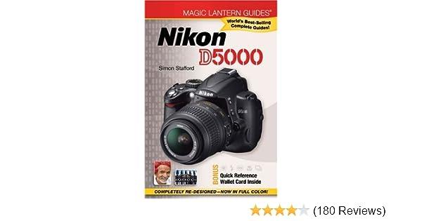 magic lantern guides nikon d5000 simon stafford 9781600596186 rh amazon com