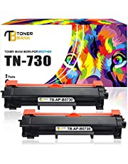 $21 » Toner Bank Compatible Toner Cartridge Replacement for Brother TN730 TN-730 TN760 TN-760 HL-L2350DW HL-L2395DW for Brother DCP-l2550DW HL-l2390DW HL-L2370DWXL MFC l2710DW MFC-L2750dw Printer Toner