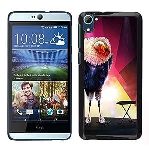 All Phone Most Case / Lindo Foto Caso Duro Carcasa Estuche de protectora / Hard Case for HTC Desire D826 // El pájaro Glamorous
