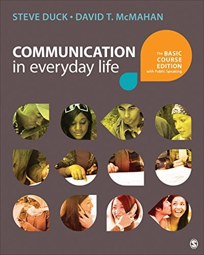 Download Communication in Everyday Life: The Basic Course Edition with Public Speaking Pdf