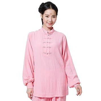 ZooBoo Women Tai Chi Suit Cotton Silk Kung Fu Uniforms