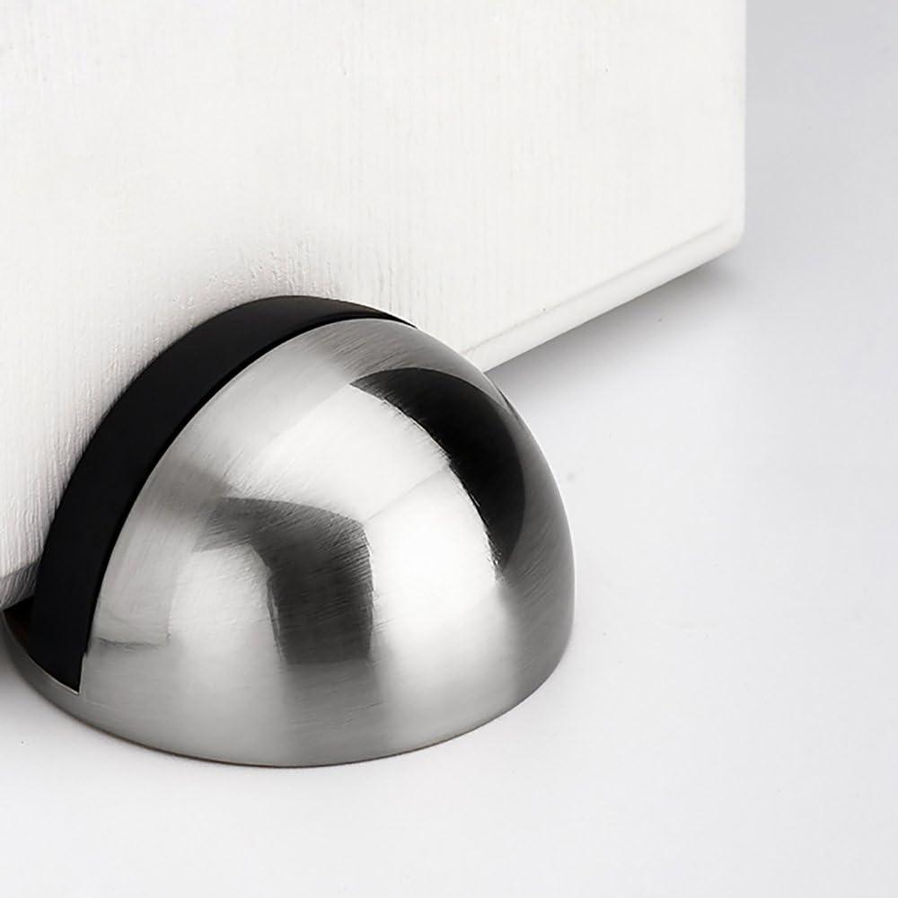 2 Pack MyLifeUNIT Metal Door Stop Floor Mount Door Stopper