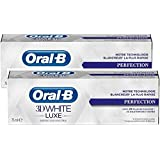 Oral-B 3D White Luxe Perfection 2 x 75ml by Oral-B