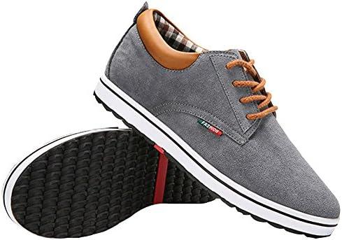 身長6cmUP カジュアルシークレットシューズ メンズスニーカー ウォーキング 本革 紐靴
