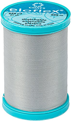 Coats Eloflex Stretch Thread 225yd-nugrey