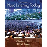 Music Listening Today (with Digital Music Download Printed Access Card for the 4 CD Set)