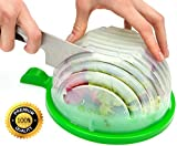 THE ORIGINAL Salad cutter bowl - Best Salad maker. Vegetable chopper, Salad shooter, Cutter for Lettuce or Salad chopper for Salad in 60 Seconds by O`Salata