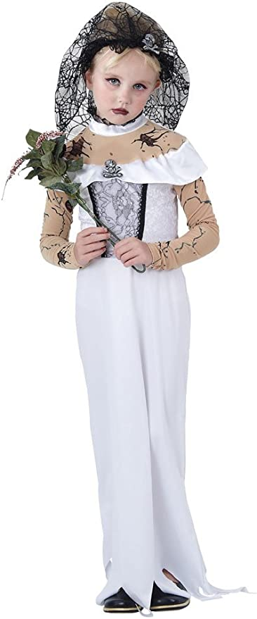 Bristol Novelty Zombie Bride Fancy Dress Costume