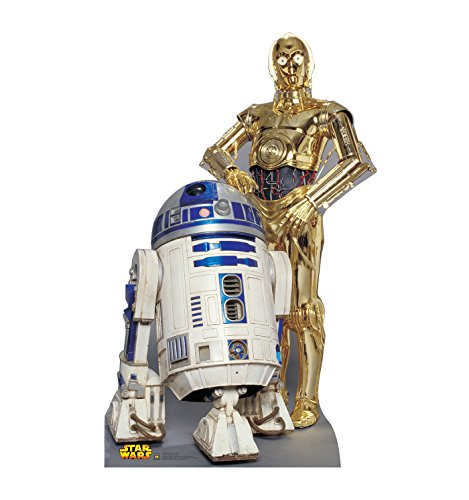 R2 D2 C-3po - Advanced Graphics R2-D2 & C-3PO Life Size Cardboard Cutout Standup - Star Wars Classics (IV - VI)