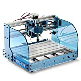 Genmitsu CNC Router Machine 3018-PROVer Mach3 with Mach3 Control, Limit Switches & Emergency-Stop, XYZ Working Area 300 x 180 x 45mm, Upgraded version of 3018-MX3