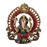 Lord Ganesh Statue Hindu God Ganesha Brass Sculpture India Decor Gifts