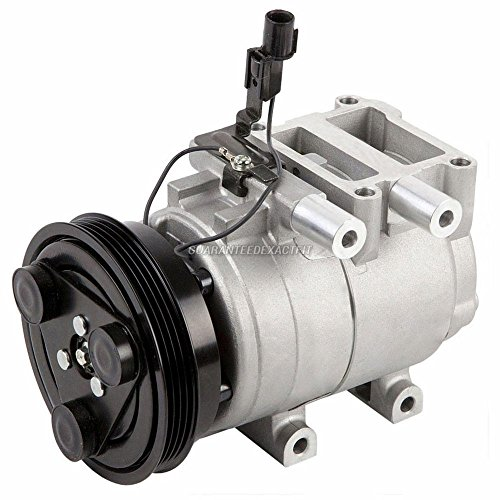 Hyundai Tiburon A/c Compressor (Brand New Premium Quality AC Compressor & A/C Clutch For Elantra And Tiburon - BuyAutoParts 60-01654NA New)