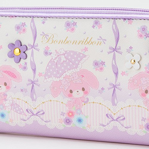 Furiously Ribon children's long wallet wallet check Sanrio admission admission kindergarten school bags series