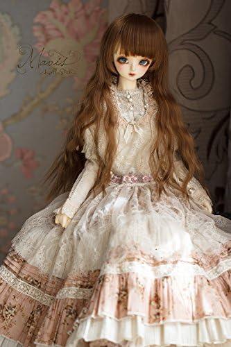 ASDOLL bjdドール服 bjd人形衣装 球体関節人形衣装 3分/62CM女 Mavis森系洋服セット‐若 緋 CL36220160515
