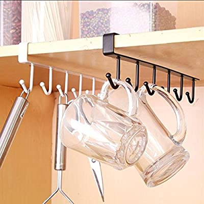LiPing Utility Hooks, Waterproof and Oilproof for Coat Keys Bags Bathroom Kitchen Storage Organizer Holder.