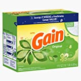 Gain With Freshlock Original Powder Laundry Detergent, 150 Loads, 172 Oz