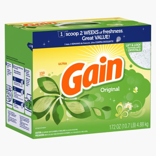 Price comparison product image Gain With Freshlock Original Powder Laundry Detergent,  150 Loads,  172 Oz