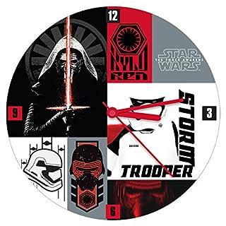 Star Wars the Force Awakens 13.5 Inch Wall Clock 55035 (B01CQ2ZUN6) | Amazon price tracker / tracking, Amazon price history charts, Amazon price watches, Amazon price drop alerts
