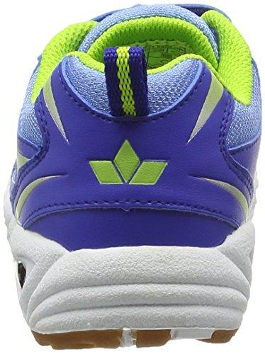 LicoBernie VS - Zapatillas Deportivas para Interior Niños Azul - Blau (blau/lemon)