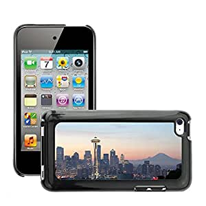 Print Motif Coque de protection Case Cover // M00293178 Horizonte de la ciudad de Seattle // Apple ipod Touch 4 4G 4th