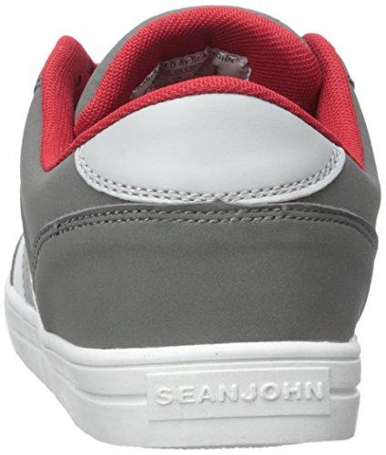 Sean John Heren Rainiero Low Fashion Sneaker Zwart / Rood