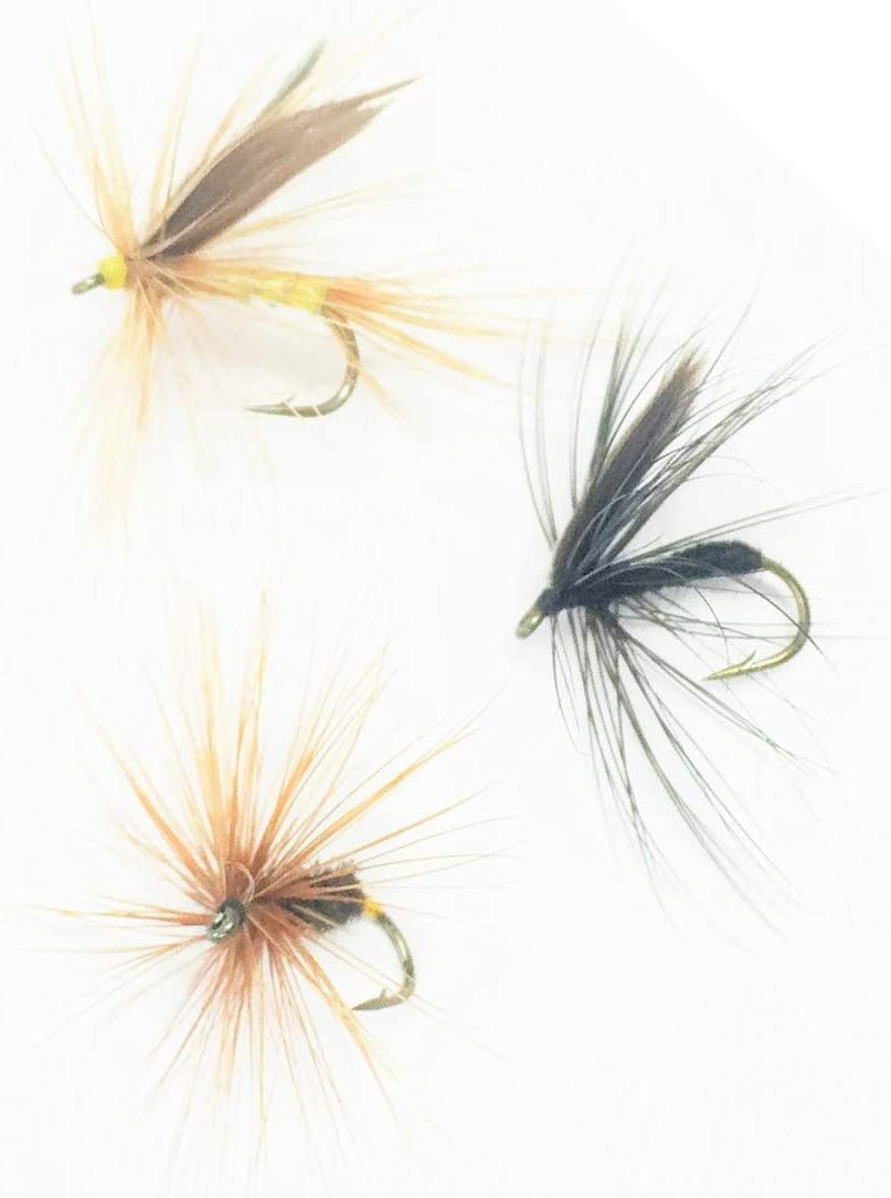 Trout Flies 6 Pack Choice of sizes Fishing flies Coch Y Bonddu Nymphs Nymphs