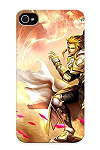 LJF phone case Perfect Fit EJbnNdh2157NxkMG Leagueofangels Fantasy Angel Warrior League Angels Game Loa (19) Case For Iphone - 4/4s