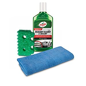 Turtle Wax 50736 Exclusive Headlight Cleaner & Scrub Daddy Restoration Kit