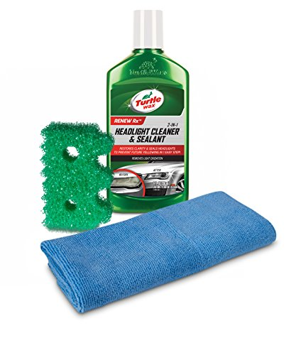 Turtle Wax 50736 Exclusive Headlight Cleaner & Scrub Daddy Restoration