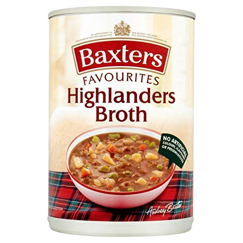 Baxters Favourites Highlanders Beef Broth Soup 400g