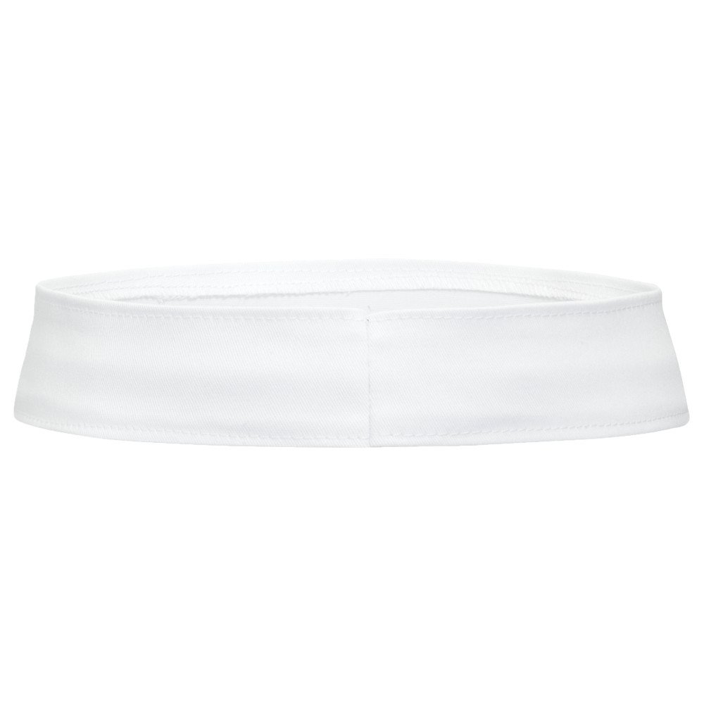 Product of Ottocap Stretchable Cotton Twill Hat Band -White, L [Wholesale Price on Bulk]