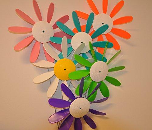 Four Daisy (Beloit Plastics DAISY6M Daisy, spinning - pack of 6)