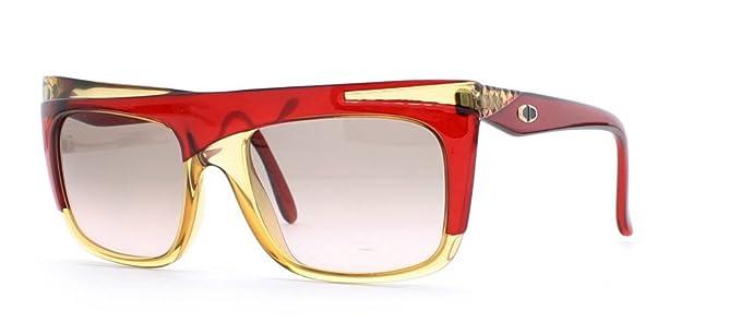 Amazon.com: Christian Dior 2400 30 Marrón y Rojo Authentic ...