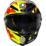 AGV Pista GP-R Limited Edition Carbon Fiber Valentino Rossi 20 Year Anniversary Helmet (