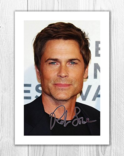 Engravia Digital Rob Lowe 1 SP - Signed Autograph Reproduction Photo A4 Print (Print Only)