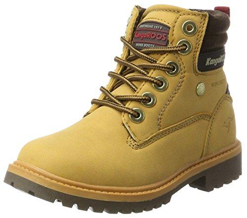 KangaROOS Unisex-Kinder Riveter Jr Hohe Sneaker Beige (Tan)