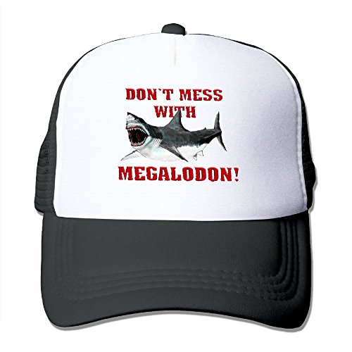 Crayola Metal Pencils (XiaoHans Men Don't Mess WIth Megalodon Cool Basketball Black Mesh Hats Adjustable Snapback)