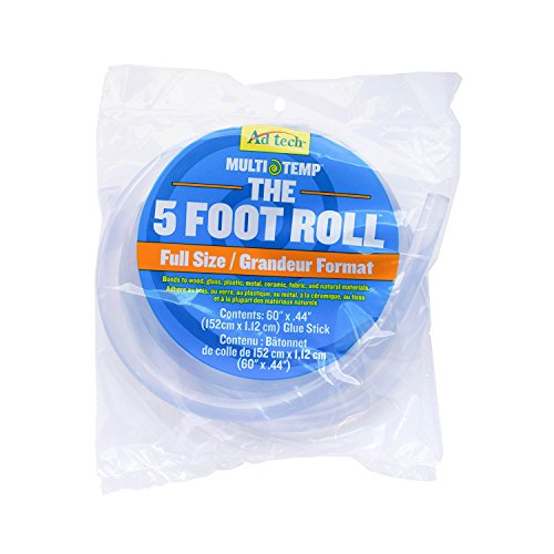Ad-Tech Adtech 220-160 5Ft. Full Size Glue Stick Roll The 5 Foot by Ad-Tech